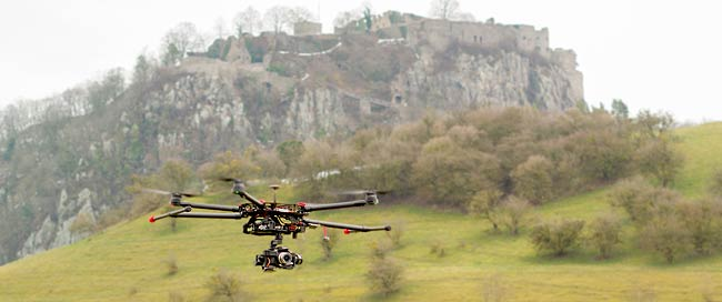 SKYsicht.de – Luftaufnahmen mit Multicoptern - Internetagentur / Werbeagentur / Webagentur BOS Medien