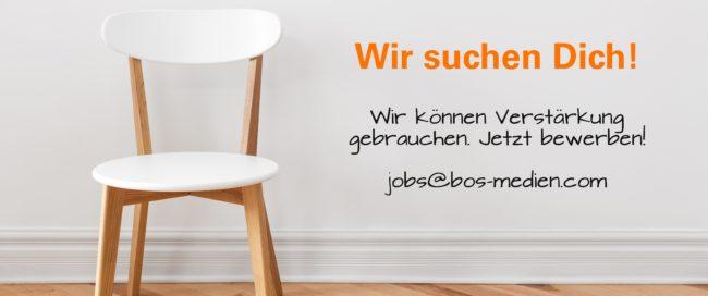Jobs - Internetagentur / Werbeagentur / Webagentur BOS Medien
