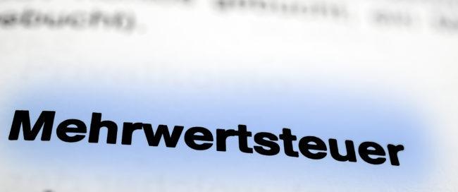 Senkung der Mehrwertsteuer - Internetagentur / Werbeagentur / Webagentur BOS Medien